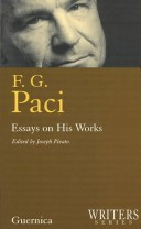 F.G. Paci: Essays on His Works