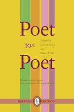 Poet to Poet: Poems written to poets and the stories that inspired them
